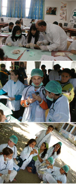 לימודי וטרינרים ומטפלים בעזרת בעלי חיים