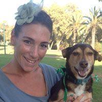 ענבר הלמן - טיפול בעזרת בעלי חיים וכלבנות טיפולית