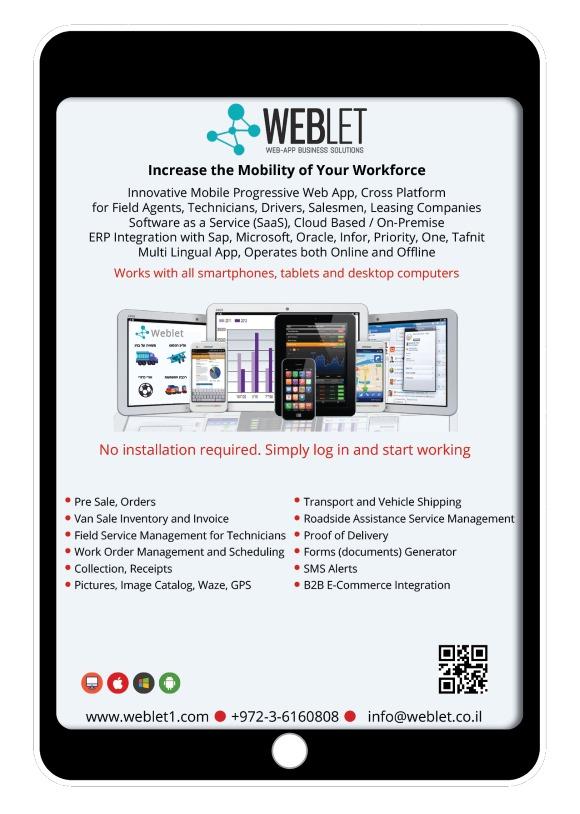 WEBLET Brochure