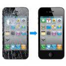 החלפת מסך LCD+מגע מקורי למכשיר Apple iPhone 4G/4S אפל