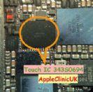 רכיב טאץ שחור 343S0694 לאייפון 6