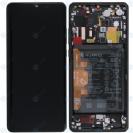 מסך שחור יבואן רישמי למכשיר Huawei P30 Pro