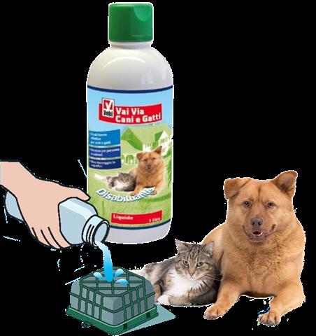 """""""GO-AWAY"""" נוזל לדחיית כלבים וחתולים"""
