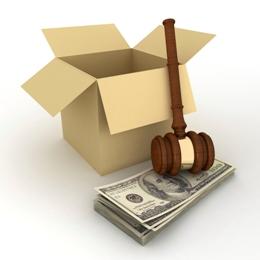 משלוחים משפטיים - ארגז וכסף