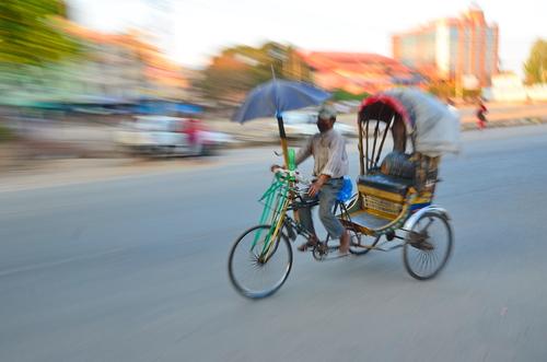 ריקשה בהודו