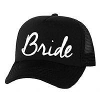 כובע רשת שחור בהדפסה לחתונה