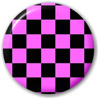 סיכה משובצת סגול שחור להדפסה