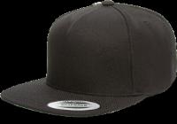 כובע שחור אפנתי להדפס