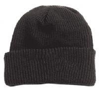 כובע צמר שחור להדפסה