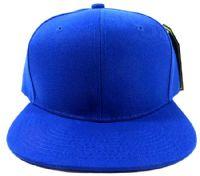 כובע כחול עם הדפס