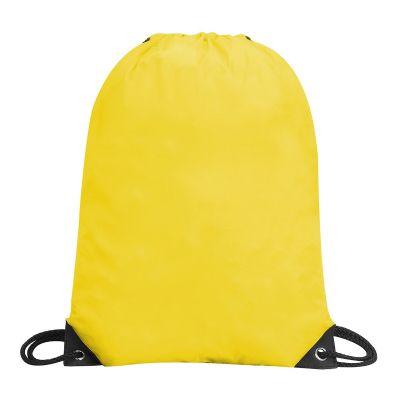 תיק שרוך ניילון צהוב