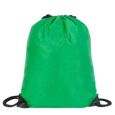 תיק שרוך ניילון ירוק כהה