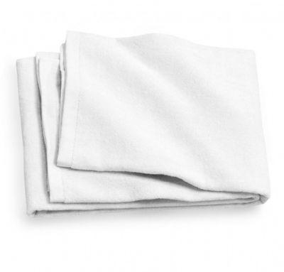 הדפסה על מגבת גוף לבנה