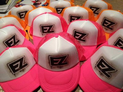 כובעים עם  לוגו להדפסה