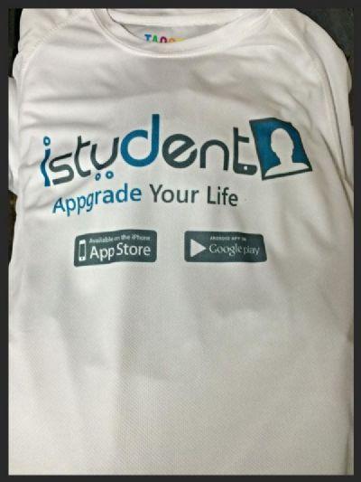 חולצה עם הדפס עבור אפליקציה