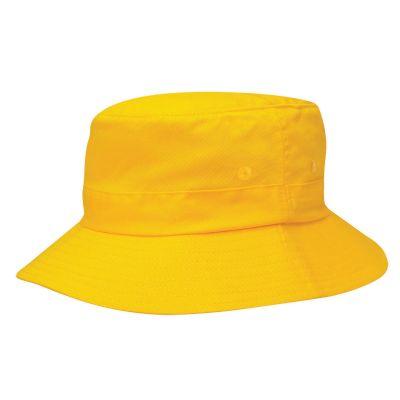 הזמנת כובעים מודפסים בצבע צהוב