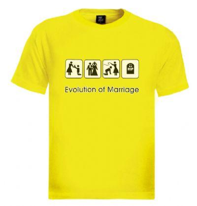 חולצות מצחיקות לחתונה בצבע צהוב