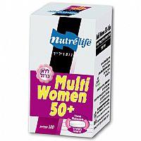 מולטי וומן + 50 ללא ברזל - 100 כמוסות - Nutrilife