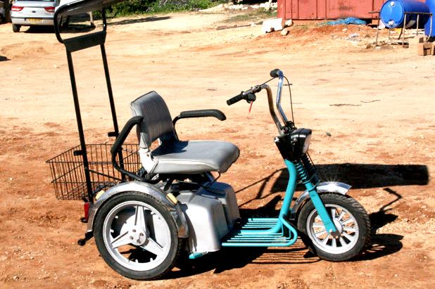 מדהים קלנועית , קלנועית יד שנייה, מיני קלנועית - חיים גלעדי - קלנועית למכירה JV-98