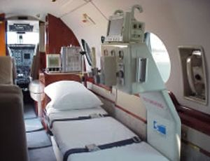 Medical air charter