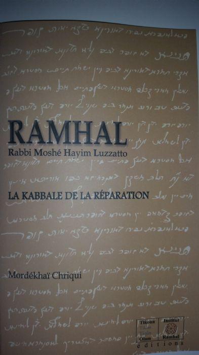 LA KABBALE DE LA REPARATION