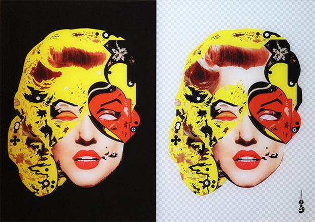 הדפס פרספקס | מרילין מונרו 08
