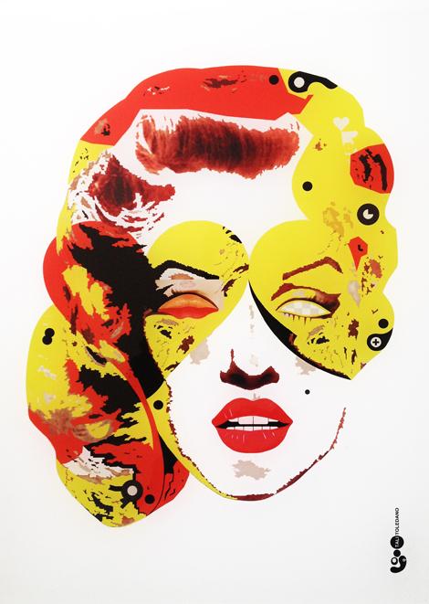 הדפס פרספקס | מרילין מונרו 02