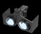 משקפי מציאות מדומה מתקפלים Ez-Fold