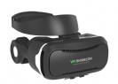 משקף מציאות מדומה משופר דגם VR SHINECON HQ4 עם אוזניות ורצועות משופרות