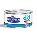 מזון רפואי רטוב לחתולים d/d הילס 156 גרם
