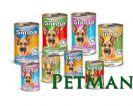 מזון רטוב שימורים לכלבים 400 גרם 24 יחידות (מגש)