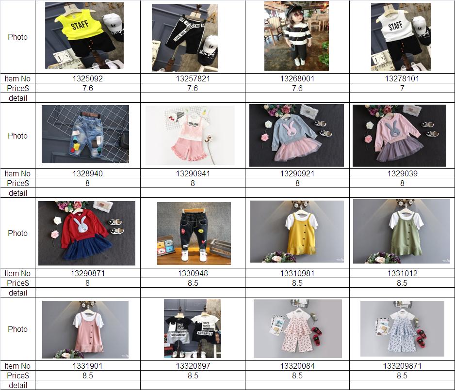 9e10419033cf3 شركة العشي للخدمات التجارية و الشحن - الصين - كتالوجات ملابس اطفال ...