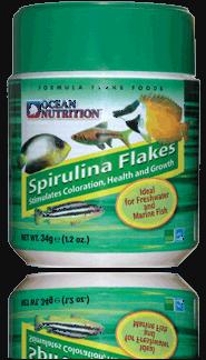 ספירולינה פלייקס מזון דפים - 70g