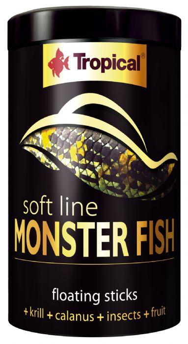 """מזון לדגים גדולים 1000 מ""""ל"""