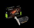כרטיס מסך Gigabyte GTX 1050TI 4GB DDR5 DVI HDMIx2 DP OC Low Profi מחיר 1390שח