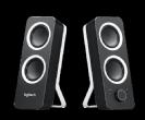 רמקולים Logitech Z200 2.0 Multimedia Speakers Black