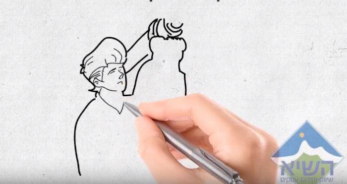 סרטון וויטבורד ואנימציה (30 שניות)
