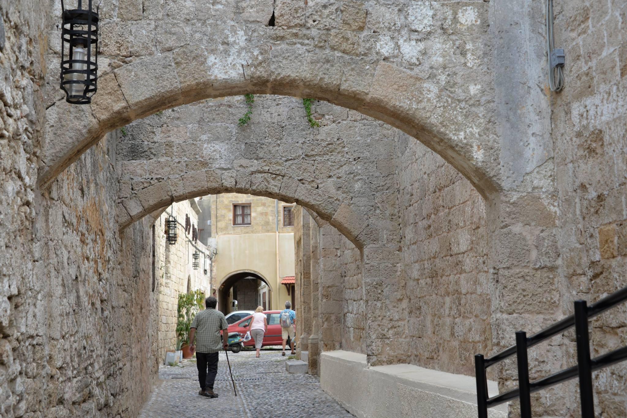 רחובות הרובע היהודי ברודוס
