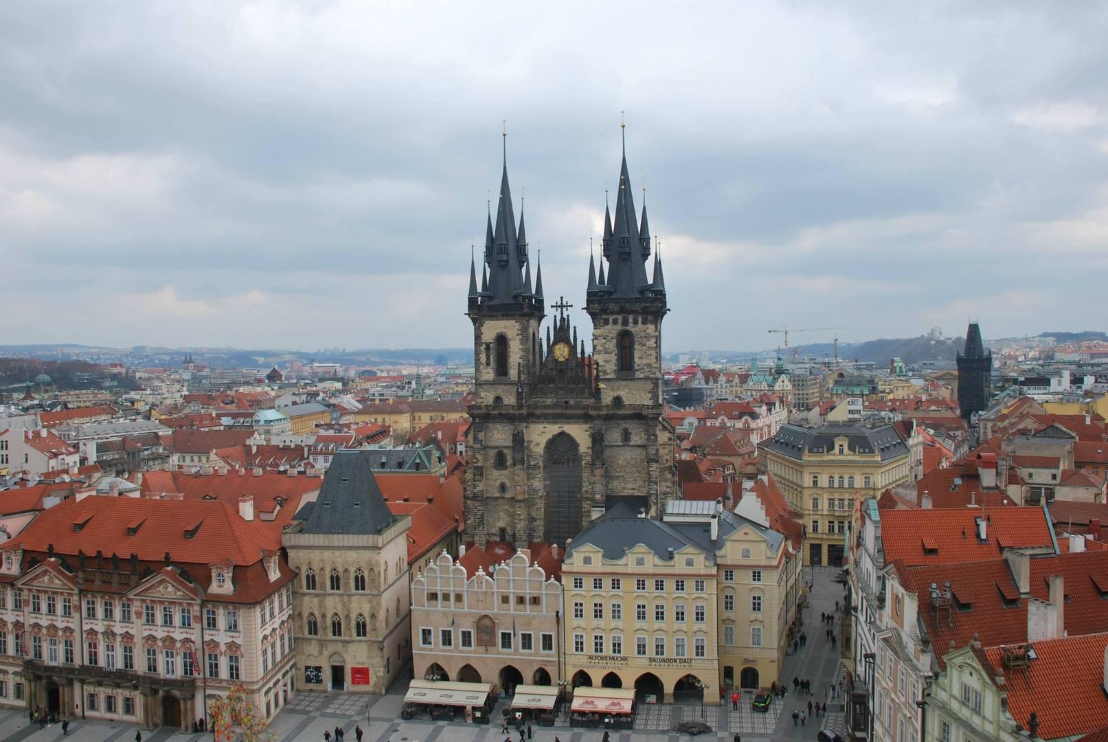ככר העיר העתיקה בפראג