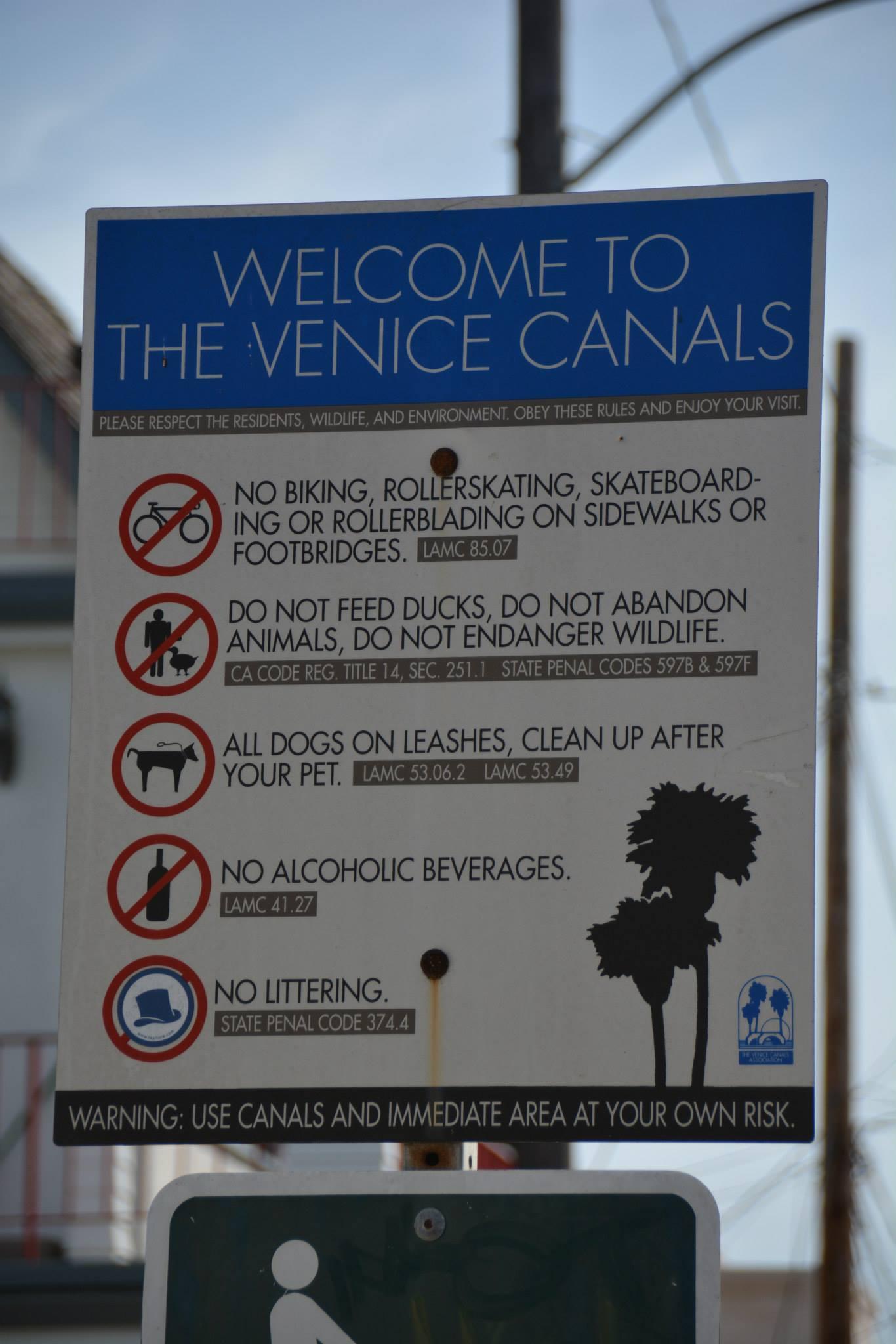 שלט מה אסור בתעלות