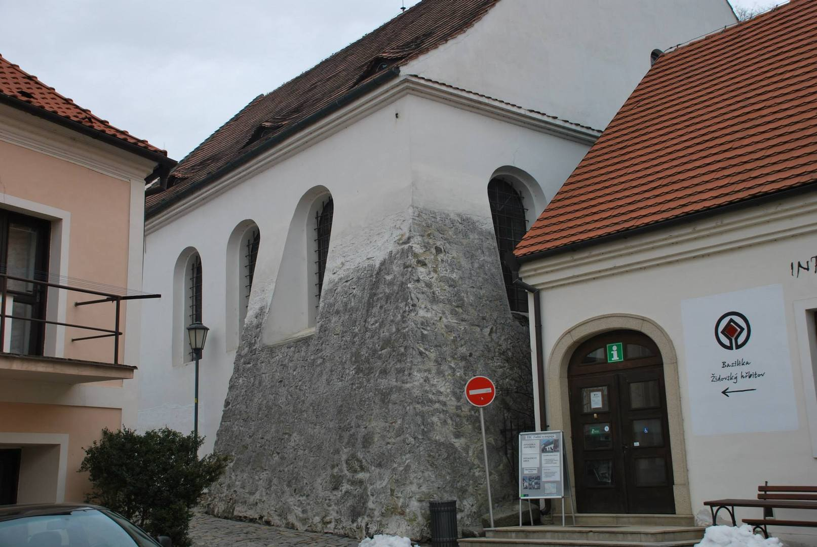 בית הכנסת ב-TŘEBÍČ