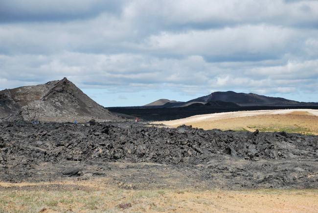 הקלדרה של הר הגעש Krafla