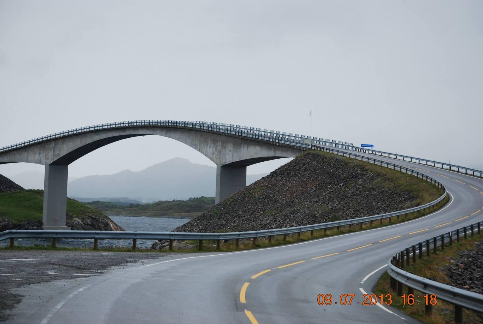 הגשר המפורסם של הדרך האטלנטית