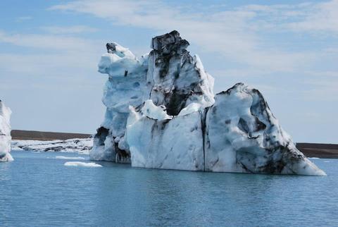 לגונת הקרחונים  Jökulsárlón.