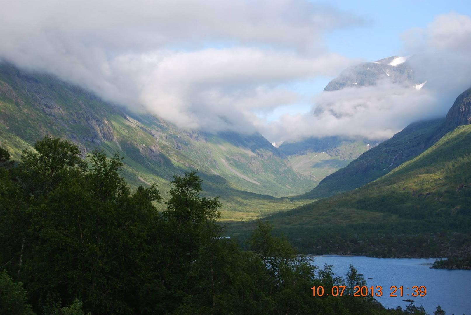 עמק Innerdalen אשר נחשב לעמק היפה ביותר בנורווגיה
