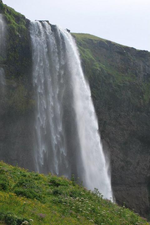 מפל Seljalandsfoss היפה