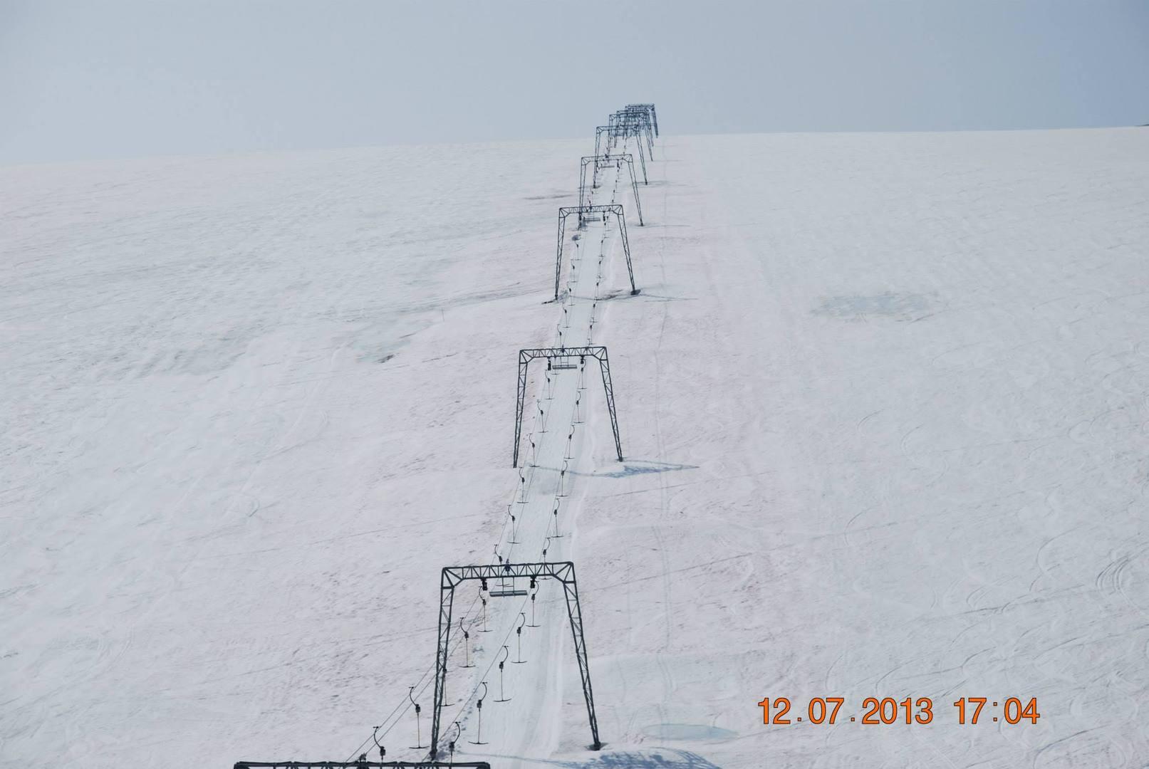 קרחון Galdhøpiggen
