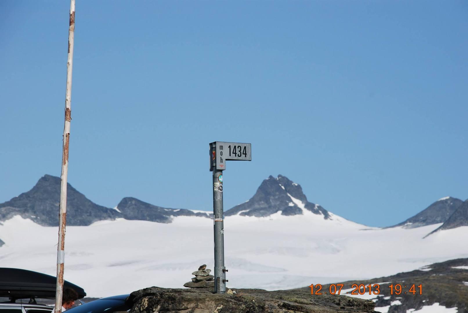 Fantesteín אשר נמצאת בגובה של 1434 מטר