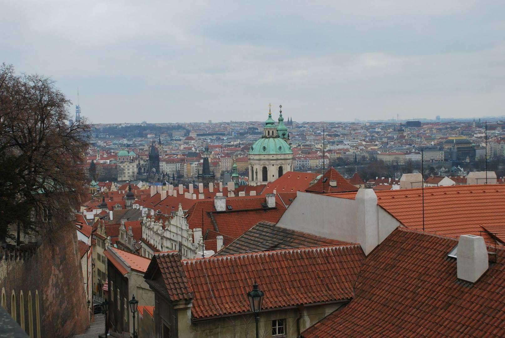 פראג עיר אלף המגדלים -נקודת התצפית היפה בעיר