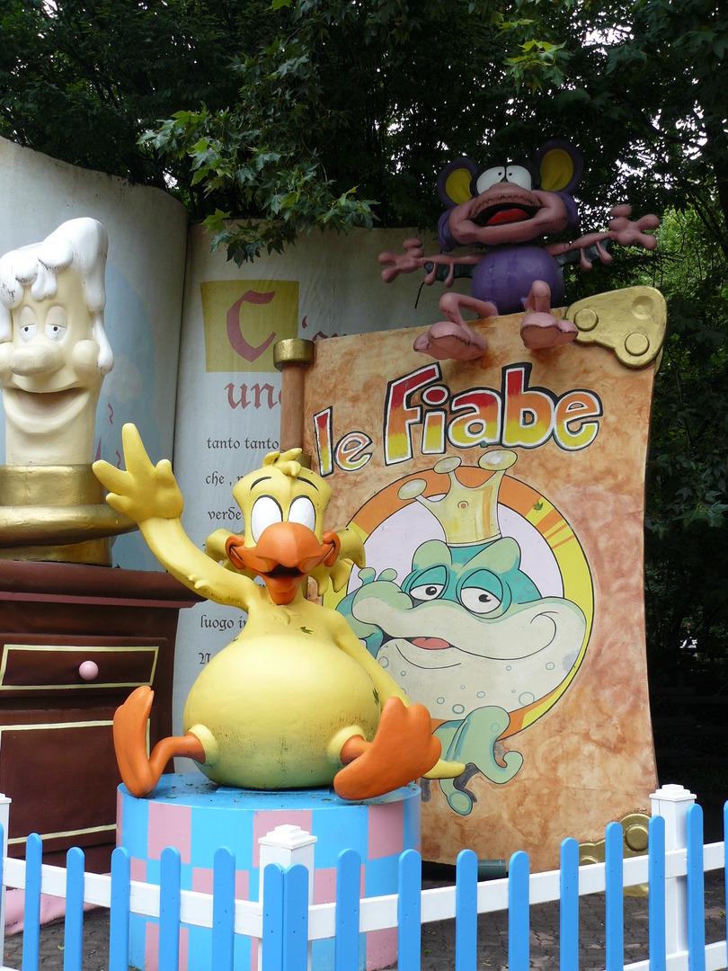בובה בפארק גארדה